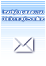 Inscrição para acesso à informações online