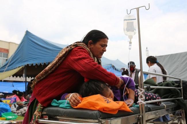 ネパール大地震被害状況